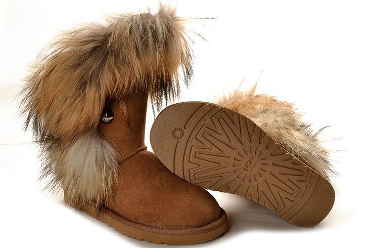 image detail for home fox fur ugg boots fox fur ugg boots rh pinterest com