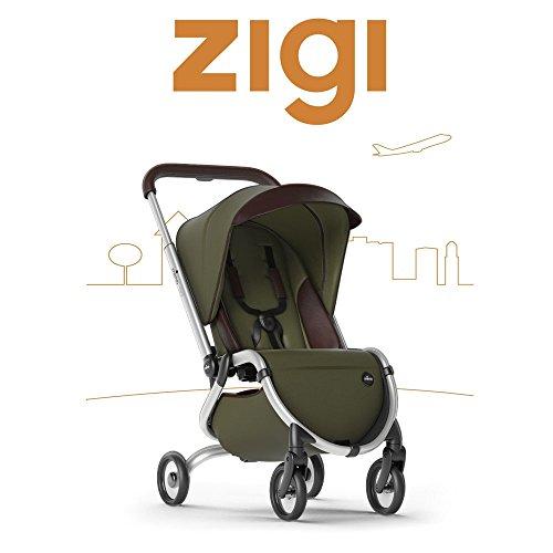 Mima Zigi Travel Stroller Olive Green Easy Buy in 2020