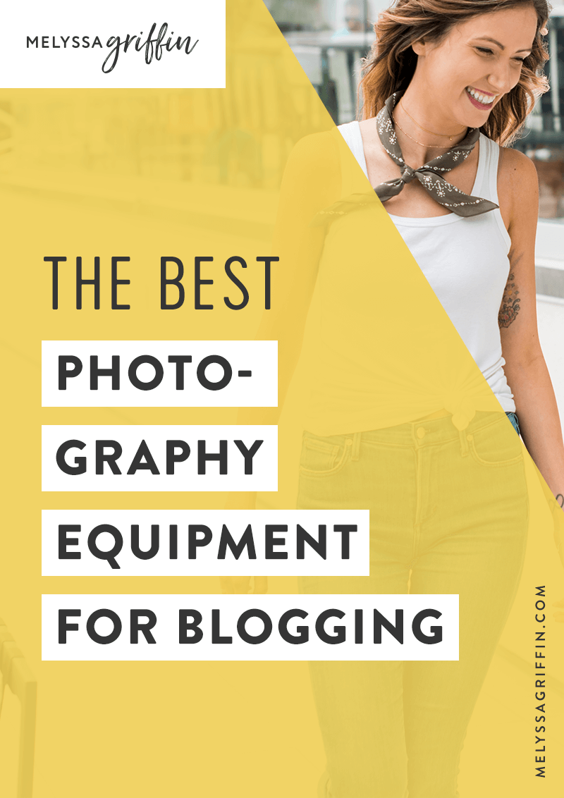 The Best Photography Equipment for Blogging Photography