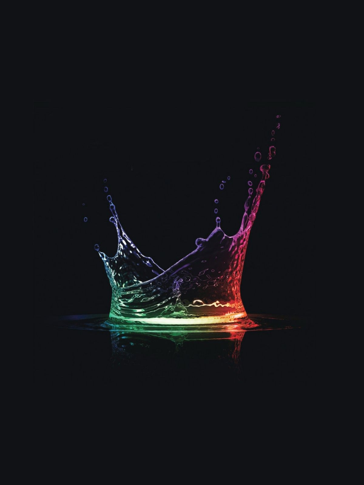 Beautiful Android Rainbow Wallpaper Dengan Gambar Hitam