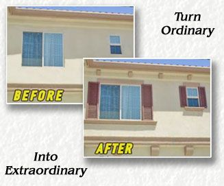 Exterior Window Frame | Stucco Trims Add Architectural Class To Any  Residence Part 89