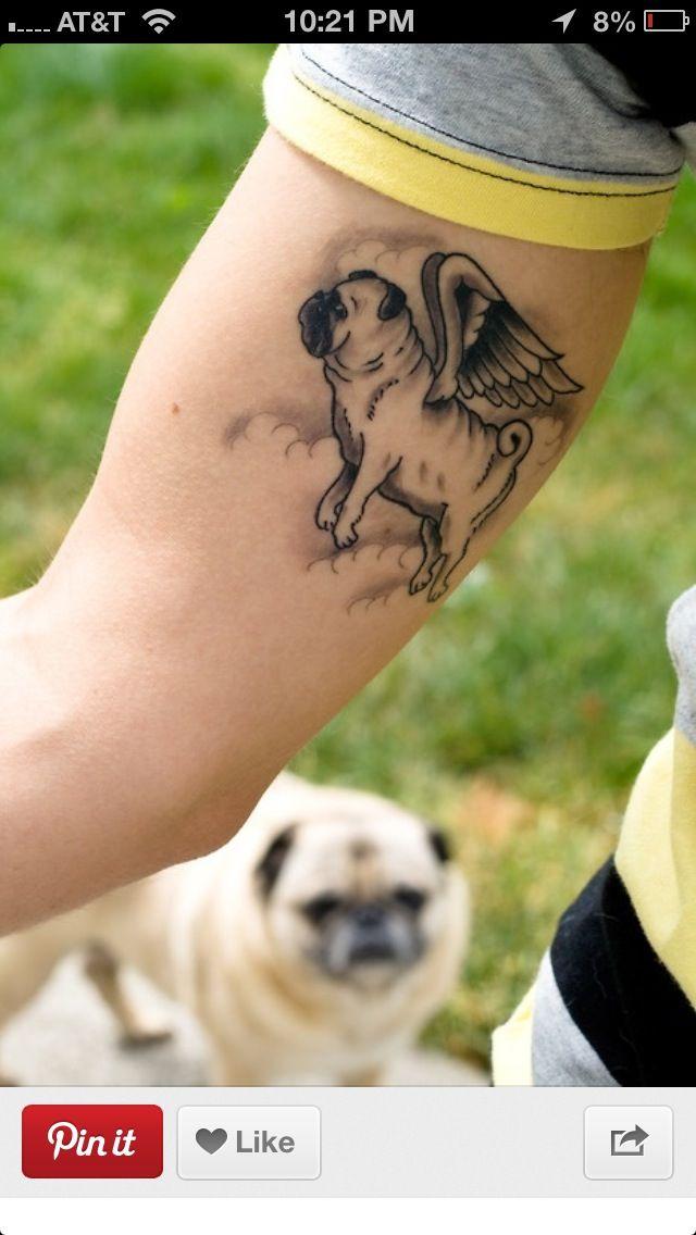 Pug Tattoo Pug Tattoo Tattoos Animal Tattoos