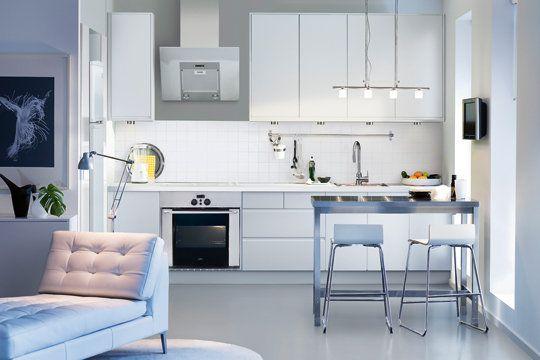 Theme Pour Chambre Bebe Garcon : Cuisine Blanc Laqué Ikea Craquez pour une cuisine grise Plan