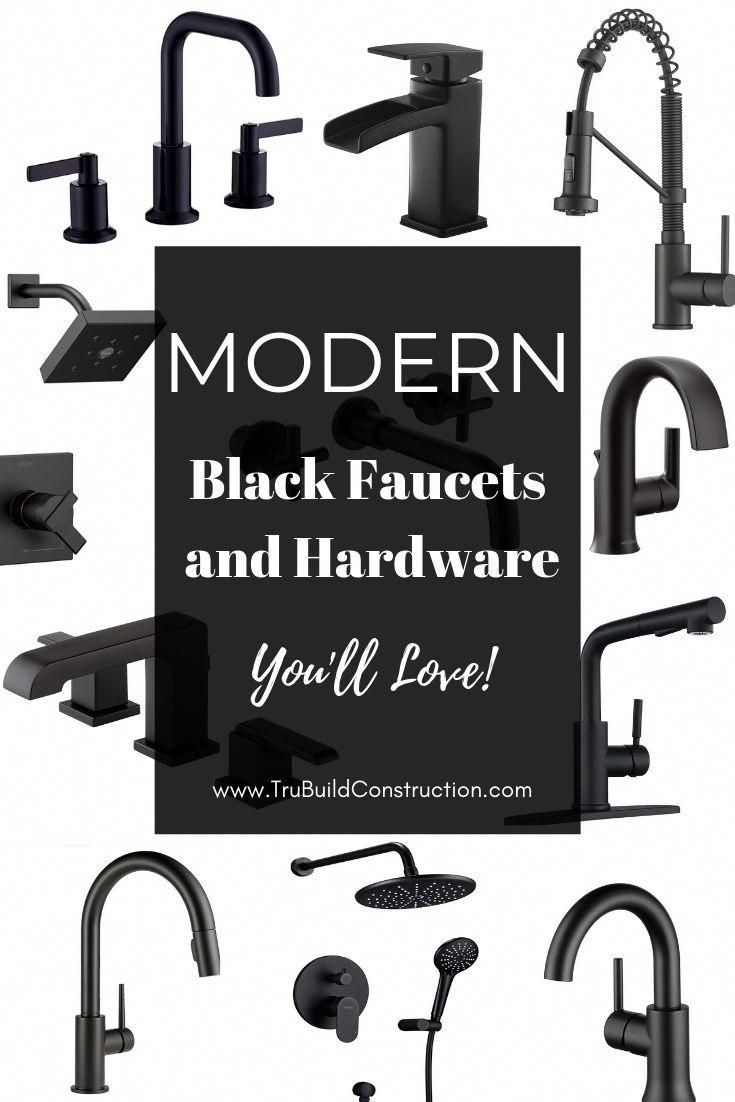 Photo of Amazing modern black taps and hardware you'll love – TruBuild Construction