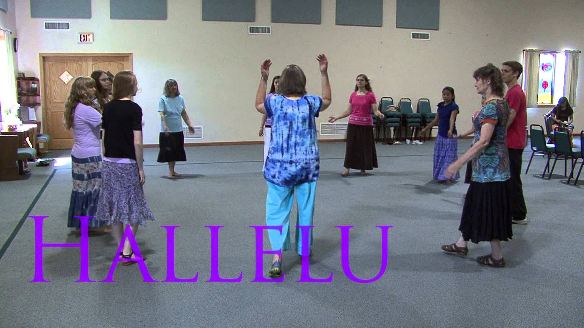 "Rejoice in Dance - Teaching video for ""Hallelu"" dance"
