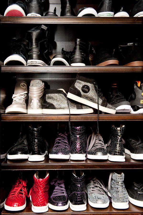 ELLE The Coveteur Khloe Kardashian Closet Wardrobe