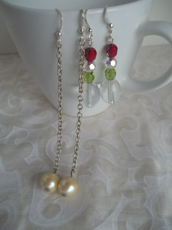 Earrings for Christmas Stockings by WanderingSaint on Etsy, $12.50