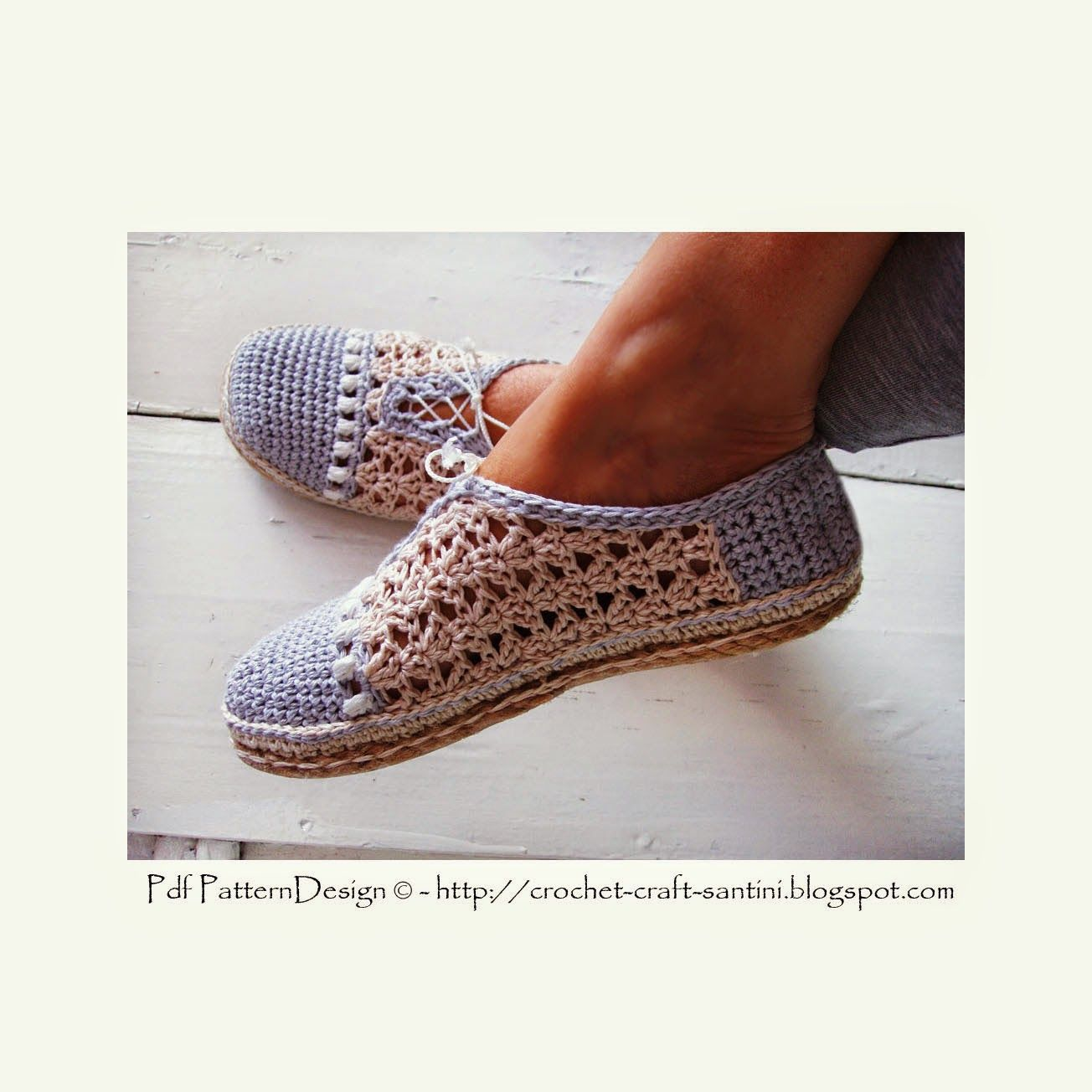 Crochet & Craft: CROCHET SLIPPER/SHOES WITH MATCHING SHOPPING BAG ...