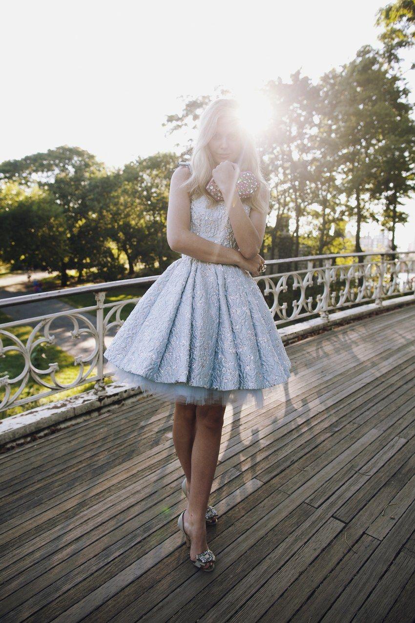 This rodarte dress is gorgeous short wedding dress for summer