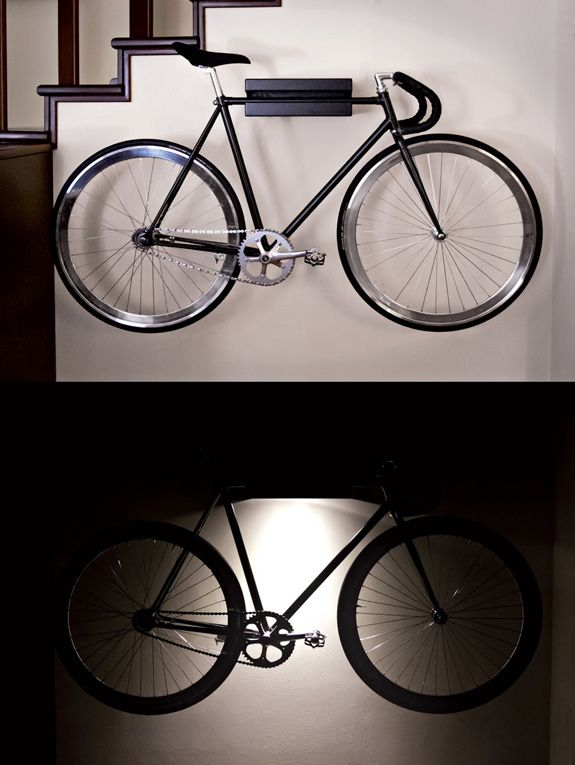 AID Bike Holder Lamp Preview Home Pinterest Bike holder