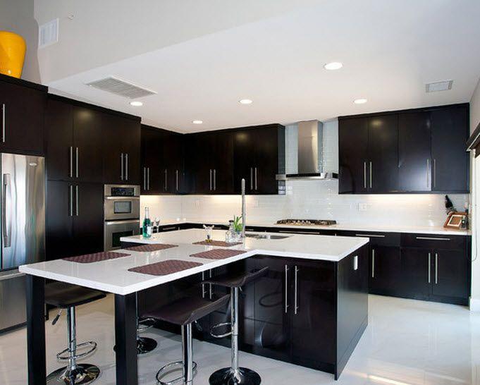 Dise os de modernas cocinas con islas que parecen flotar for Modelos cocinas integrales modernas
