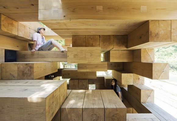 Final Wooden House By Sou Fujimoto Architects Designed