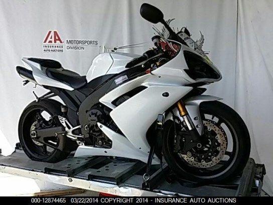 2008 Yamaha Yzfr1 Www Iaai Mx Yzfr1 Motorcycle Yamaha