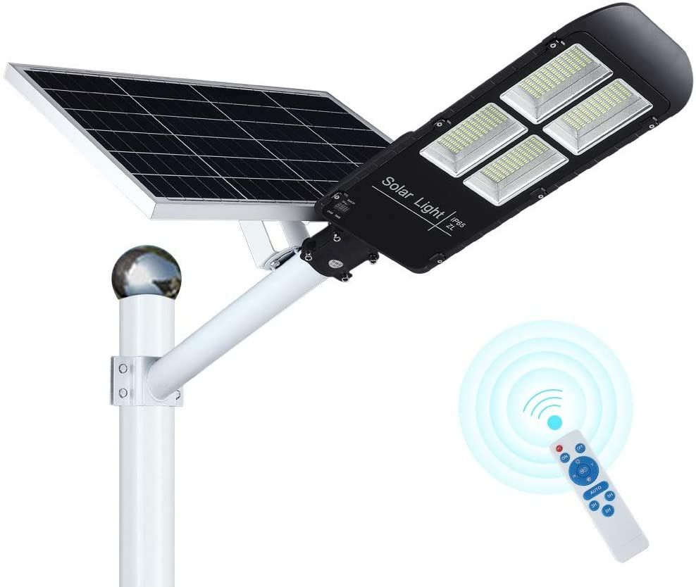 300w Led Solar Street Lights Outdoor 484 Leds Dusk To Dawn Security Flood Light With Remo Outdoor Flood Lights Solar Powered Outdoor Lights Solar Street Light Solar powered flood light dusk to dawn