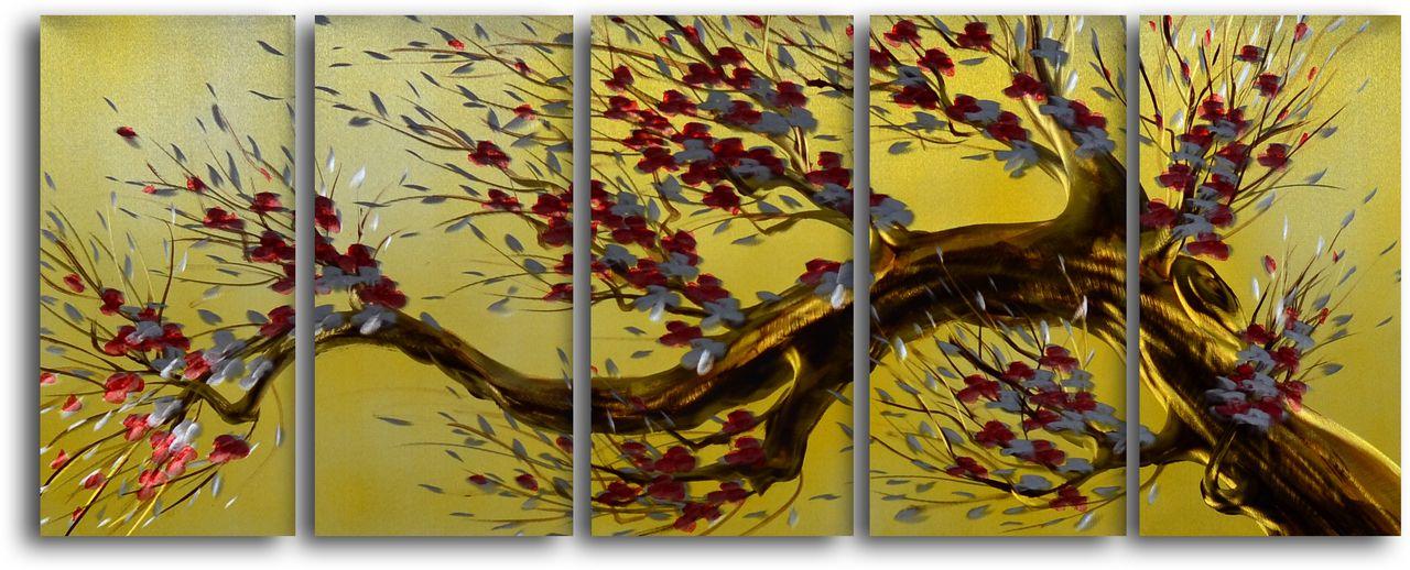 Tree of Liberty\' 5 Piece Handmade Metal Wall Art Set   Wall art sets ...
