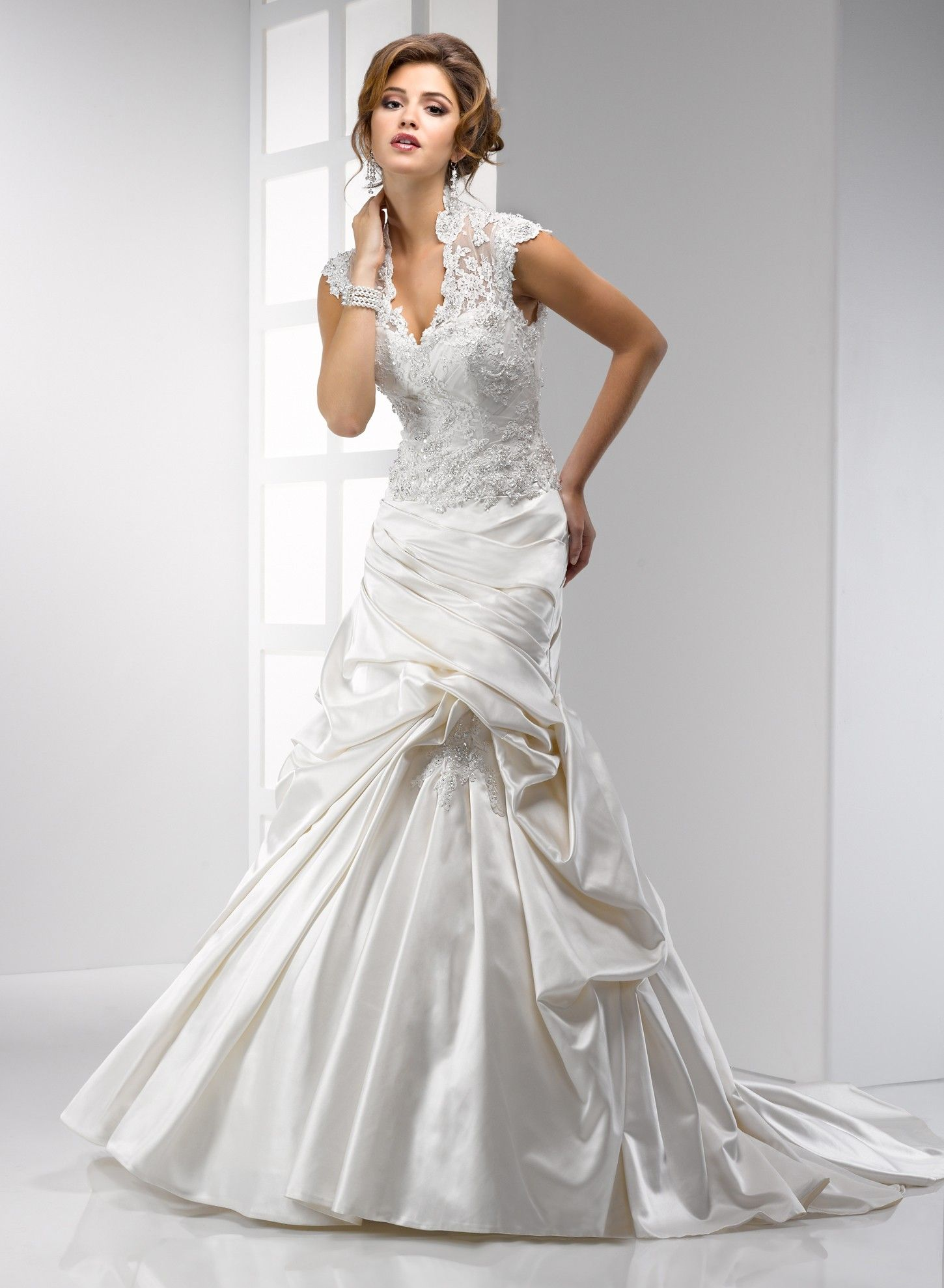 Wedding dress with collar  high collar halter wedding dress  Google Search  My Style