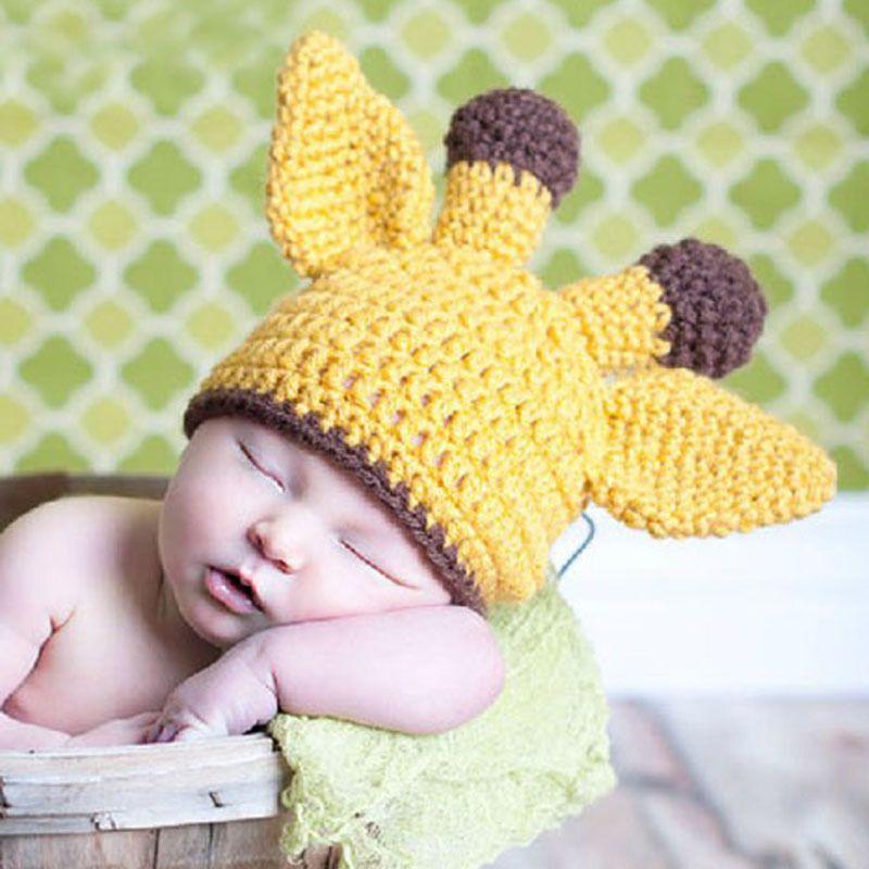 Cheap Nuevo estilo jirafa del bebé del sombrero del niño del patrón ...