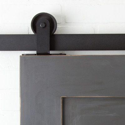 Erias Home Designs Straight Strap Sliding Barn Door Hardware Hard