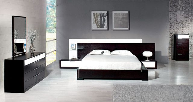 Contemporary Bedroom with Modern Sets | bedroom | Pinterest ...