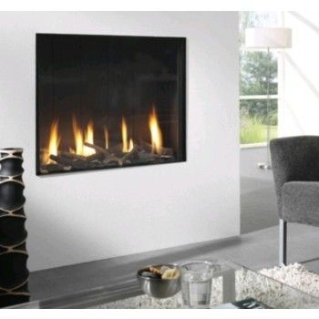 De #Element4 Optica is een royale inbouw #gashaard. #Gaskachel #Kampen #Interieur #Fireplace #Fireplaces