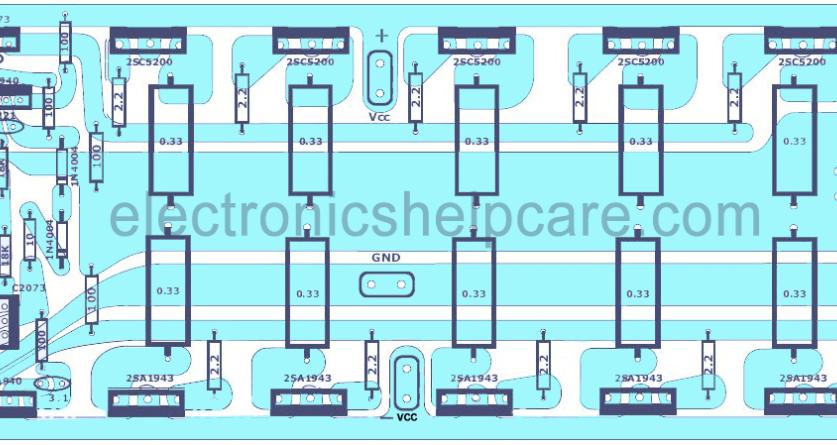 1000 Watts amplifier circuit diagram pdf | Circuit diagram ...
