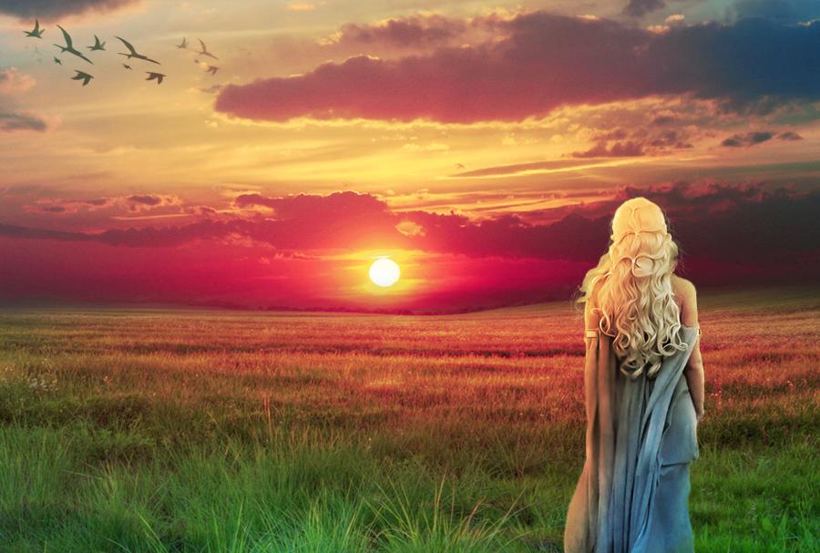 Daenerys by Sophie-Y