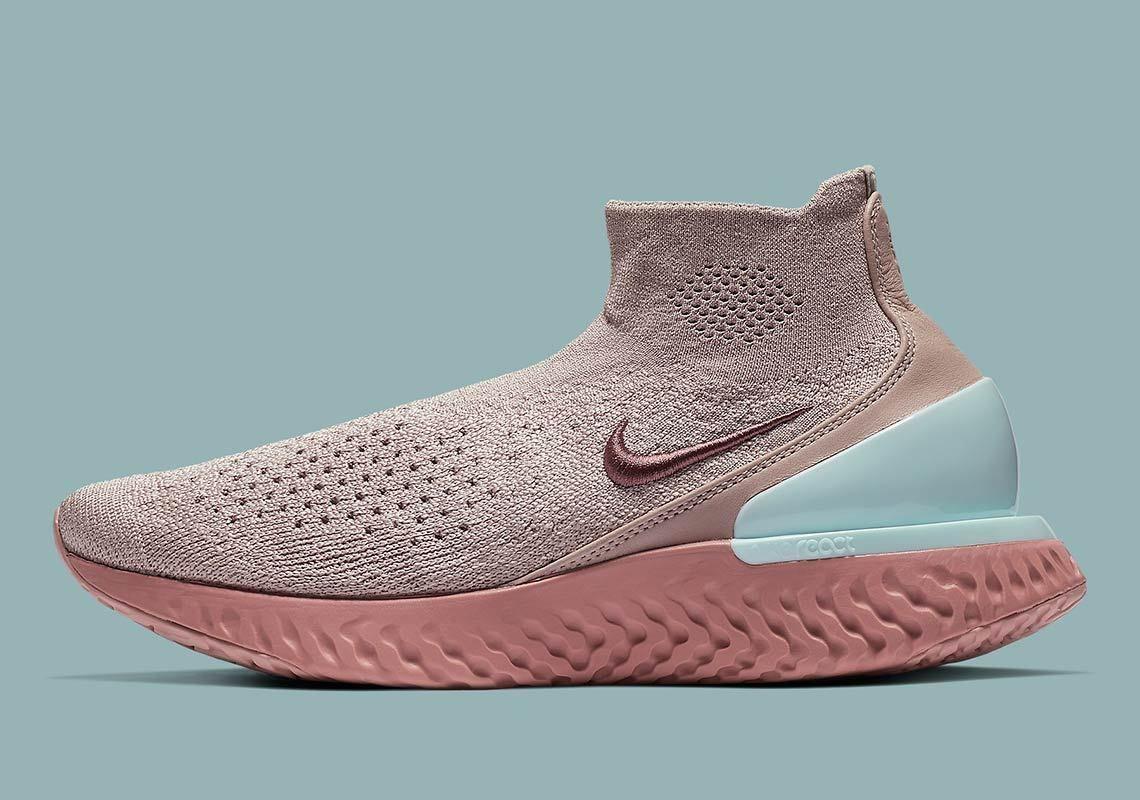 e5d5213e551 Nike Rise React Flyknit Womens Pink AV5553-226  thatdope  sneakers  luxury   dope  fashion  trending