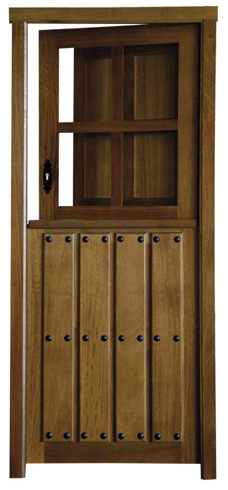 Puerta de calle rustica partida v4 puertas alberto cano puertas - Puerta madera rustica ...