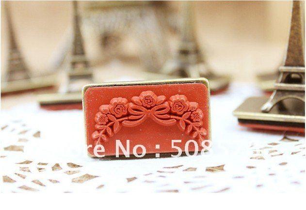 New Vintage Style Quality Paris Tower Design Quality Metal Stamp/DIY Gift  Stamp 6 Design