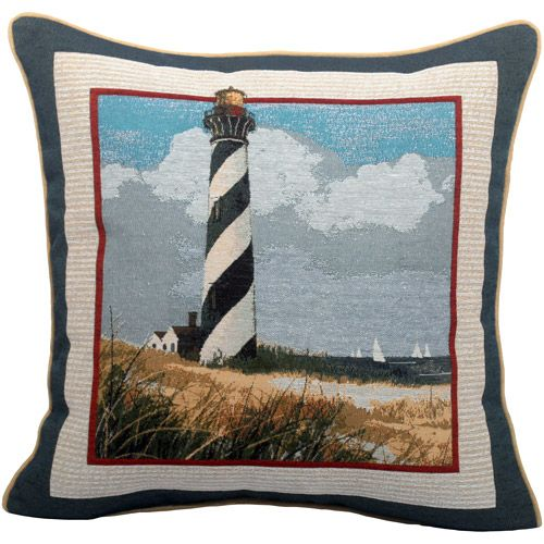 Lighthouse Decorative Pillow