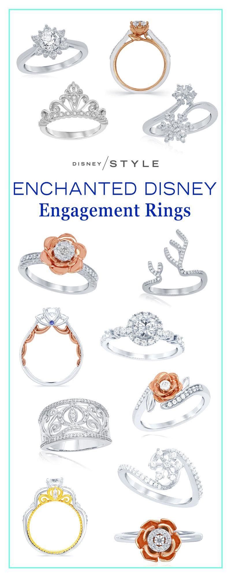enchanted diamond photo disney gallery cinderella carriage ring rings zales wedding image love
