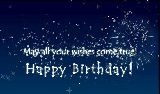 Birthday Cards Live ~ May all your wishes come true happy birthday tjn happy
