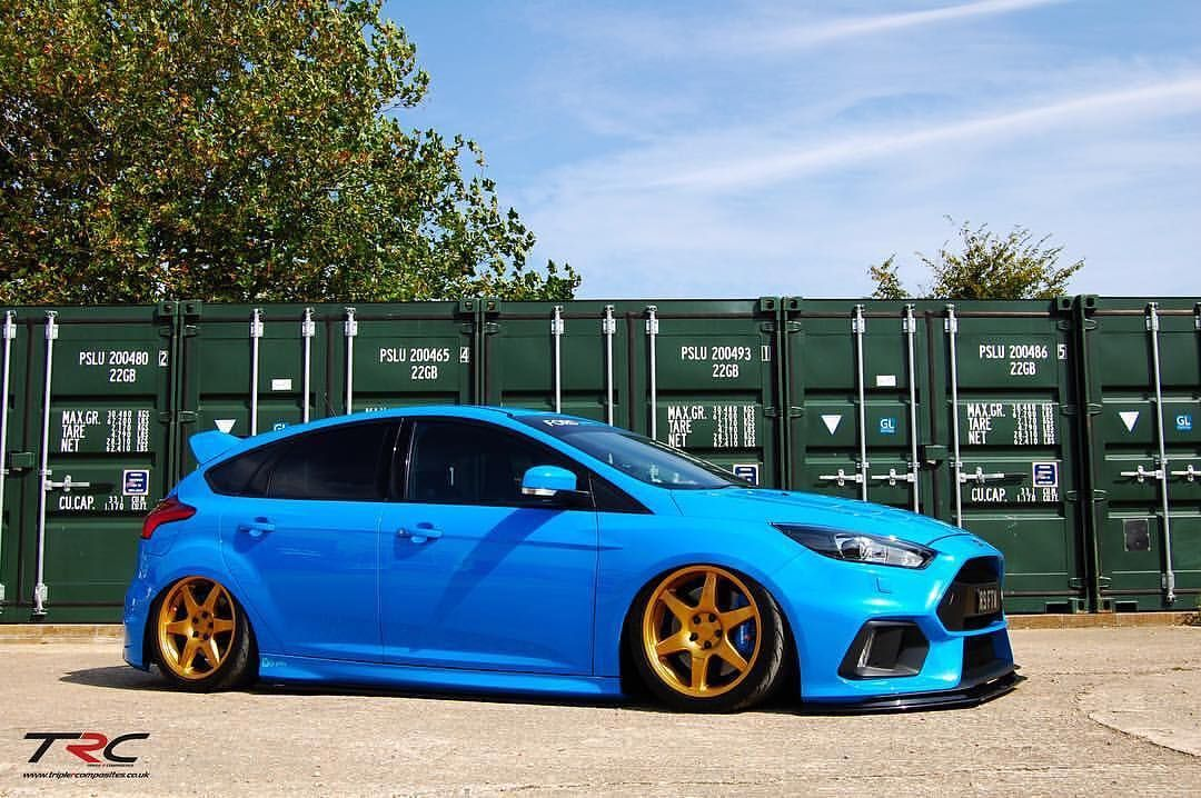 Bagged Rs Finishes The Day Ford Focus Ford Focus Hatchback Ford Focus Rs