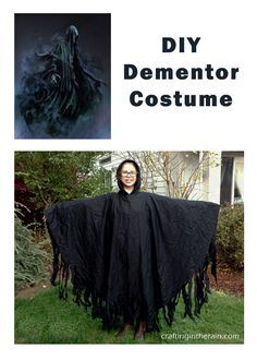 how to make a dementor costume its super easy