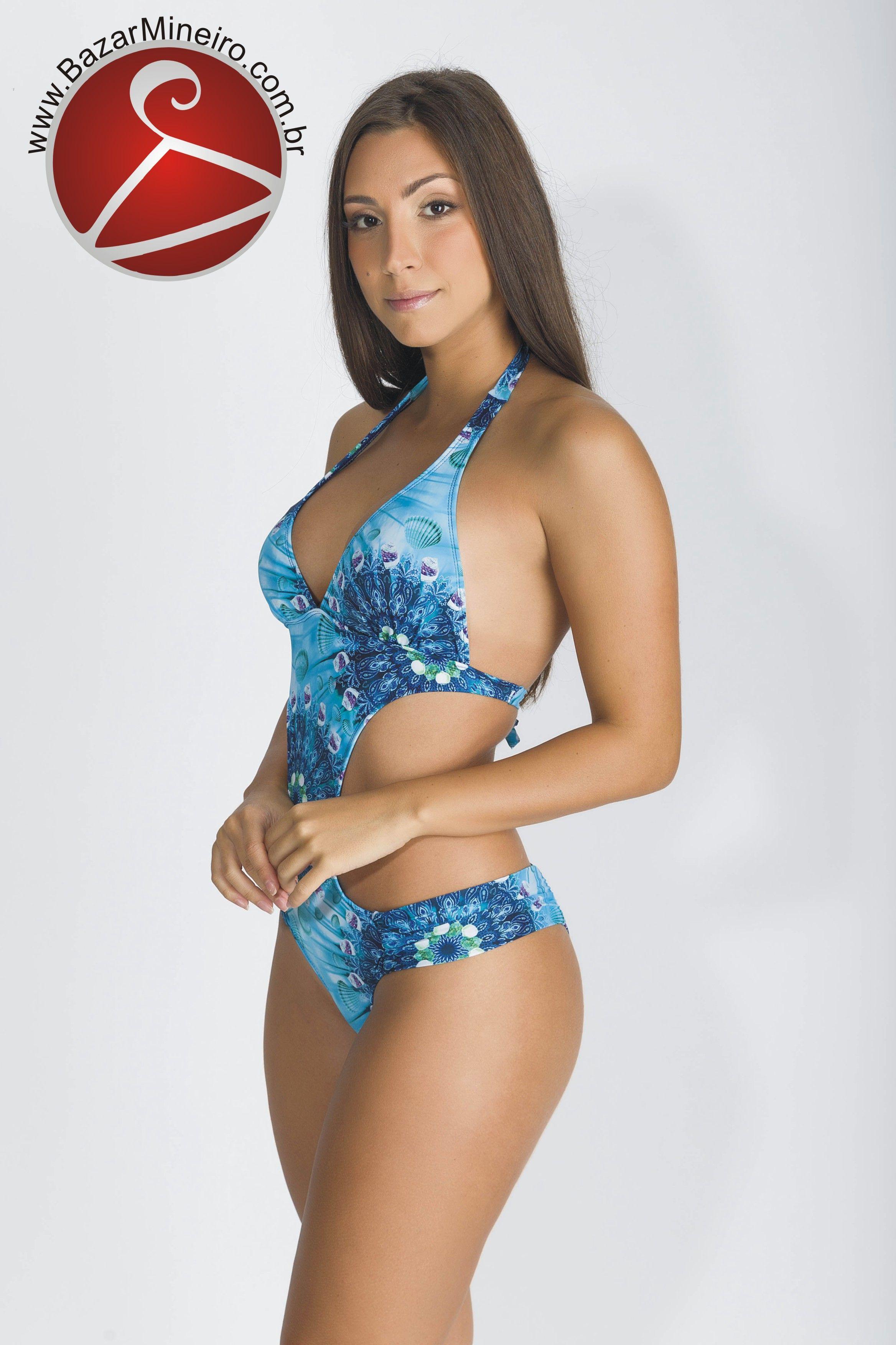 Maiô Engana Mamãe com Calcinha Conforto - Ocean - Verão 2018 Um dos modelos  preferidos de 2a41ca80688