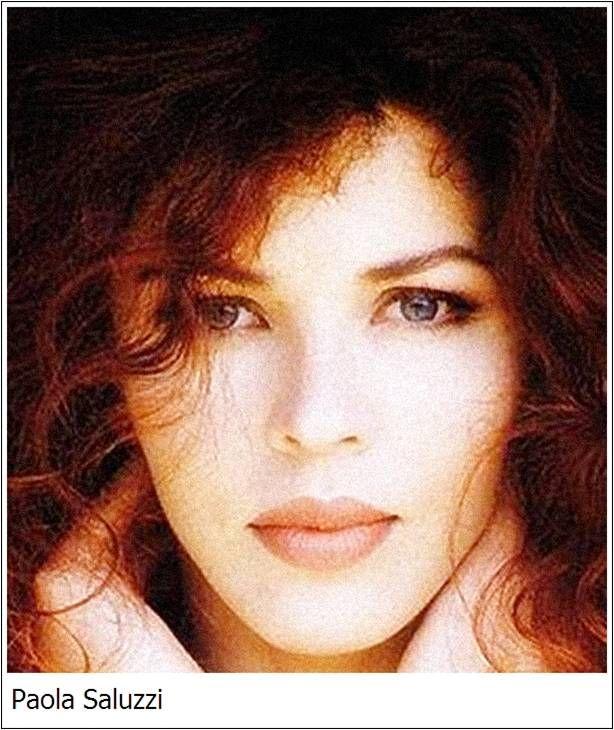 Paola Saluzzi Roma, 21 maggio 1964 conduttrice televisiva italiana.