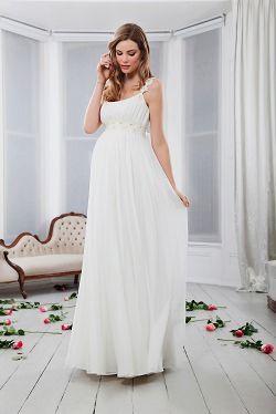 edel und leicht  brautkleider für schwangere von tiffany rose  kleid hochzeit leichte