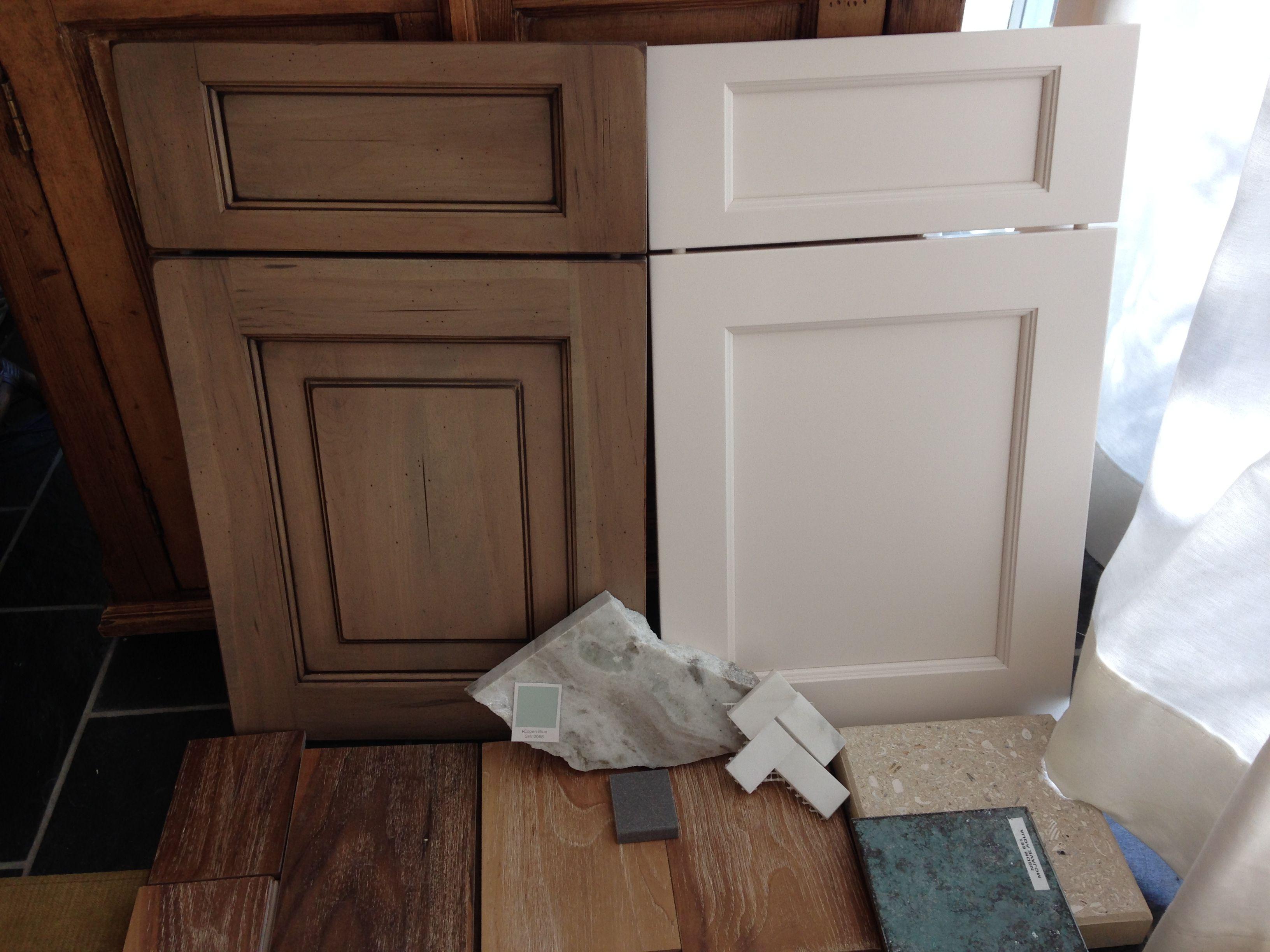 Right Door Presidio Lace White For Perimeter Cabinets Left Island