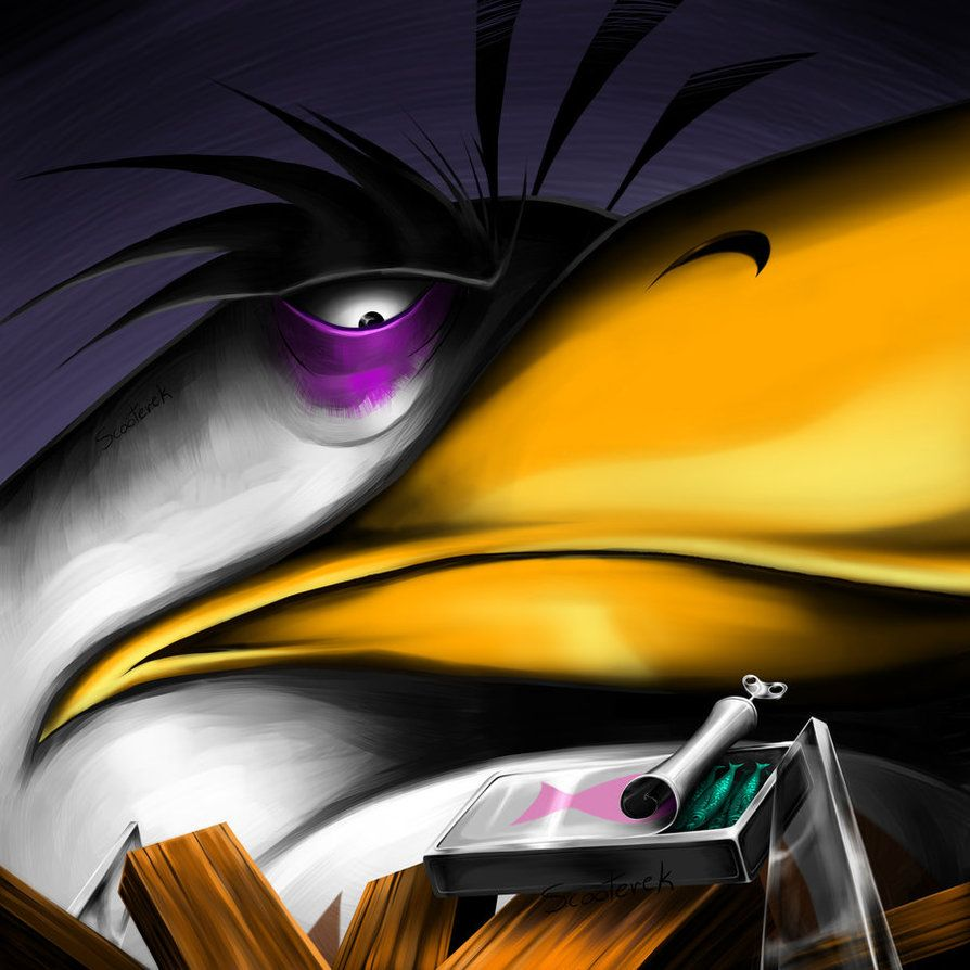 Mighty Eagle Angry Bird By Scooterek On DeviantArt