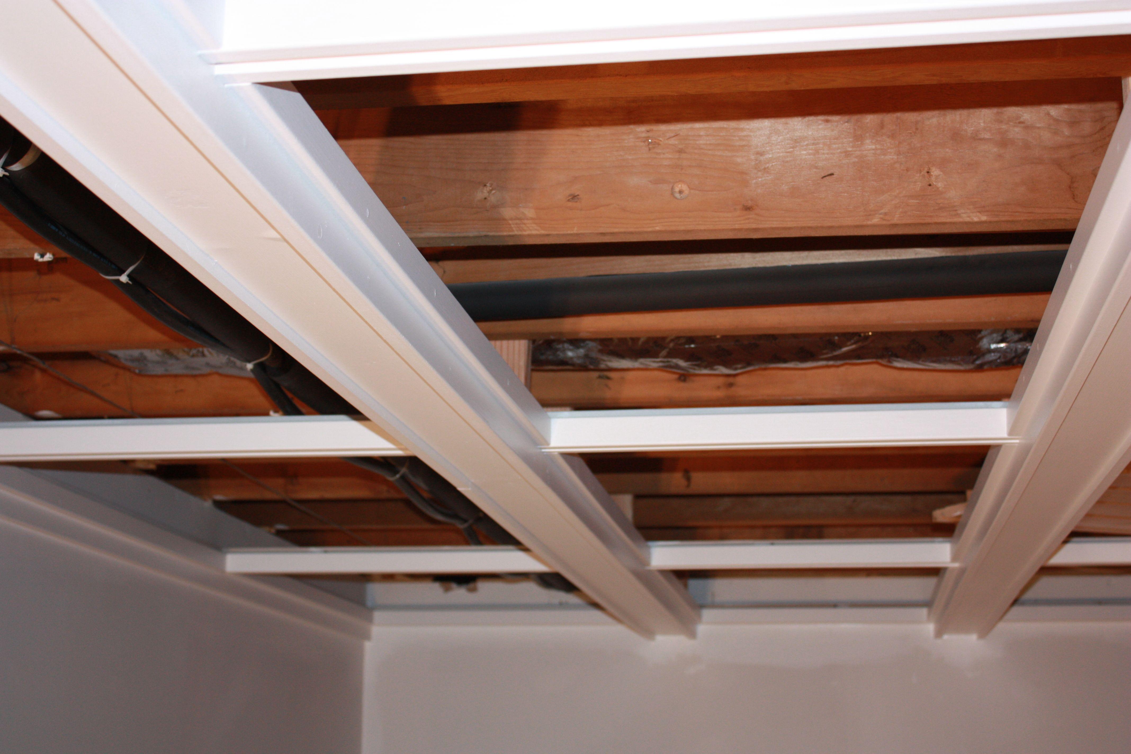 C fered Basement Drop Ceiling o c