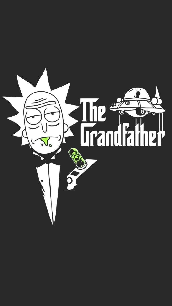 Rick Sanchez The Grandfather Rickandmorty Imagens De