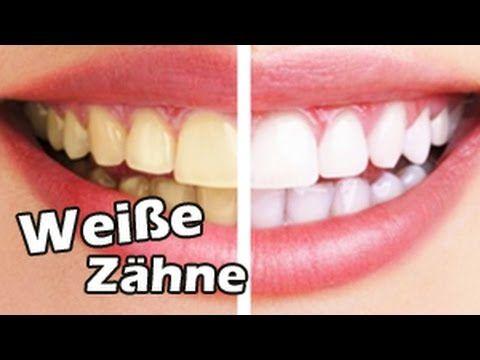 Weiße Zähne Mit Backpulver Und Zitrone Zahnpeeling Gegen Gelbe