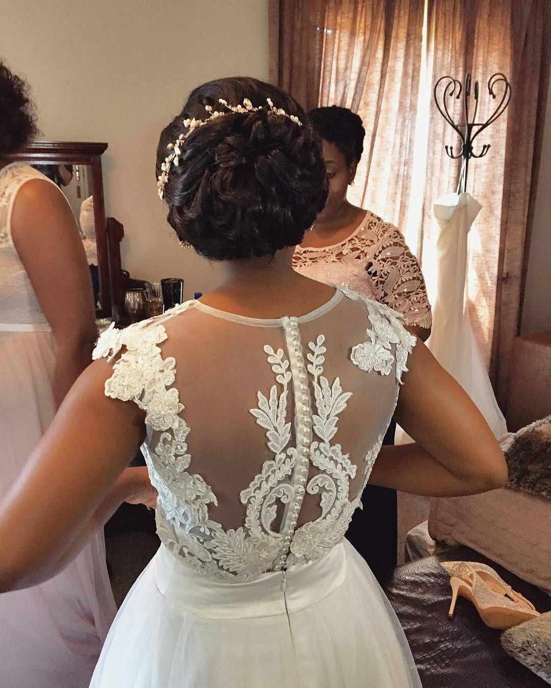 African american designer wedding dresses  Pin by Anna M on African and African American Wedding Ideas