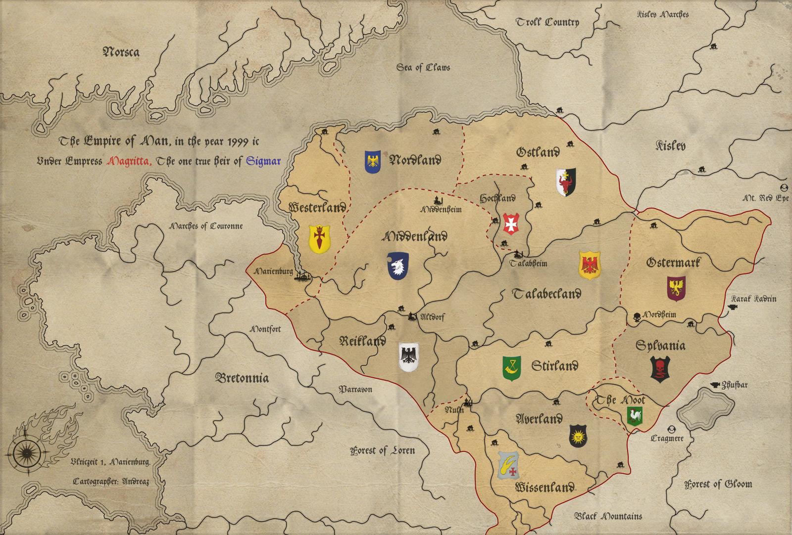 Warhammer cartography and maps | Warhammer | Pinterest | Cartography ...