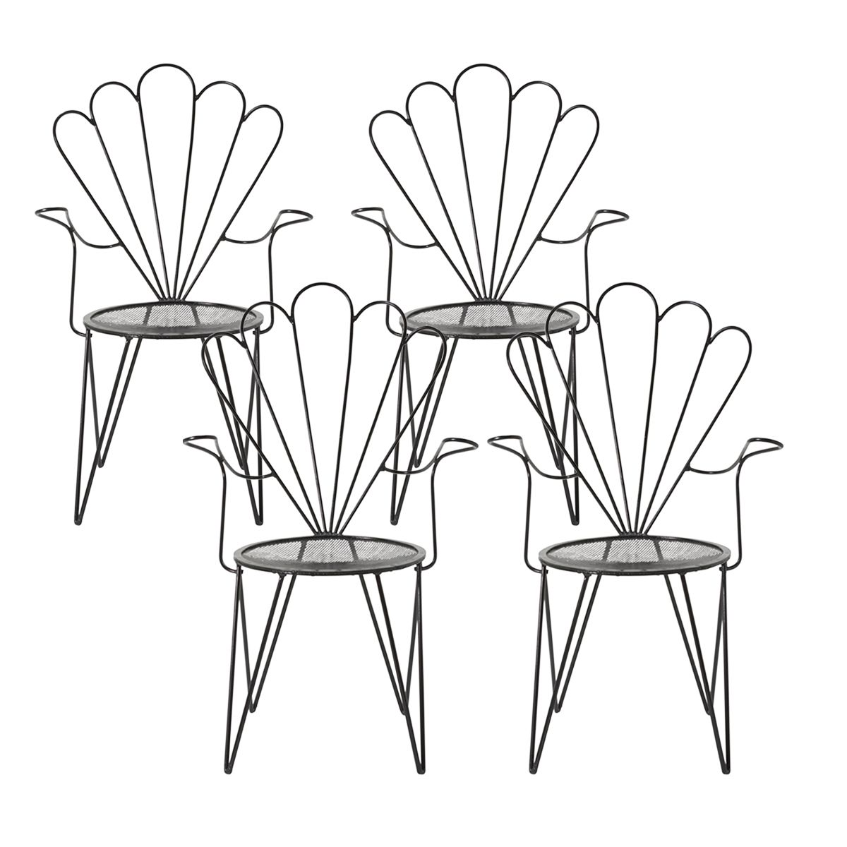 Fan Back Garden Chairs in 8  Garden chairs, Furniture resale
