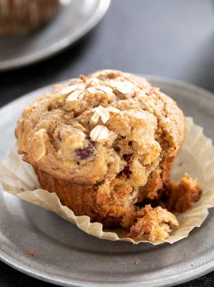 Gluten Free Morning Glory Muffins #glutenfreebreakfasts