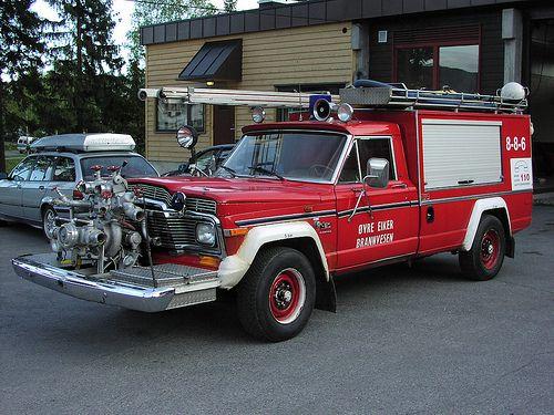 Norwegian Jeep Fire Truck - M715