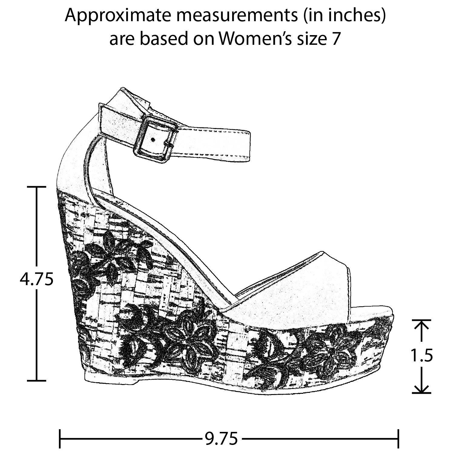 a589bca8b3d2 Womens Platform Wedge High Heels Sandals Ankle Strap Embroidered Cork  SBO-SW101 -- Want