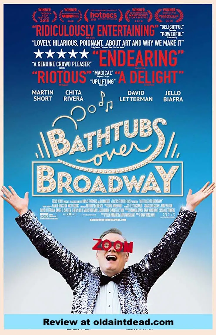 Review Bathtubs Over Broadway Broadway posters