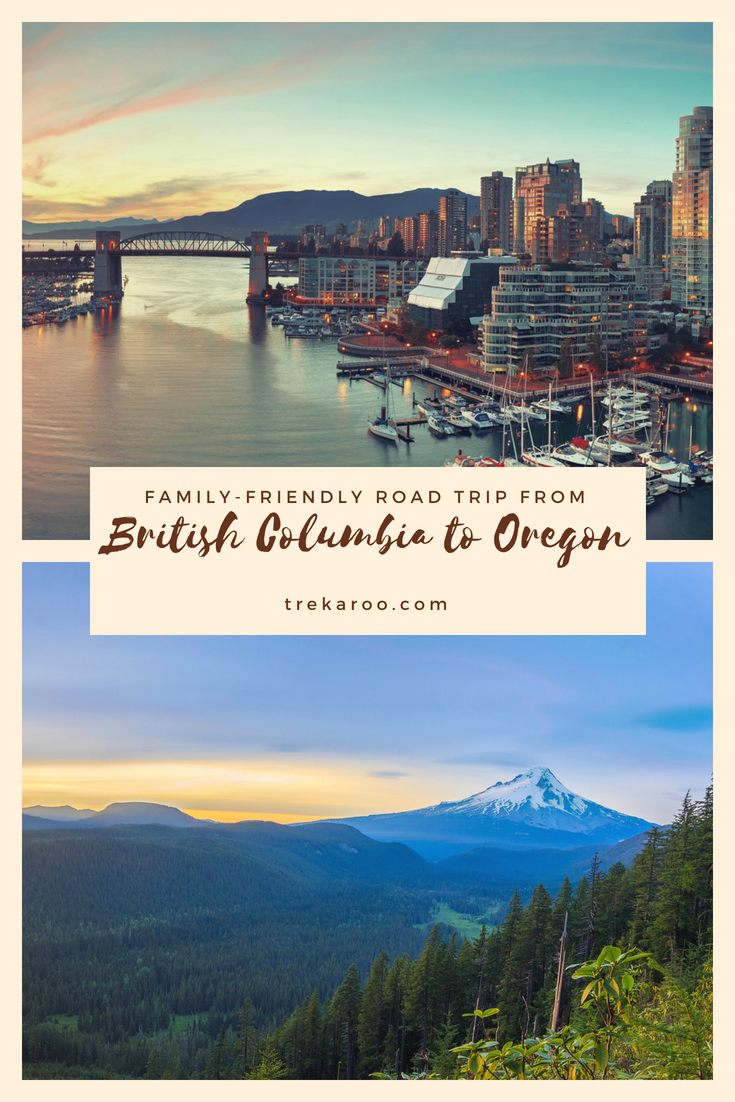 road trip on i-5 from british columbia to oregon | washington state